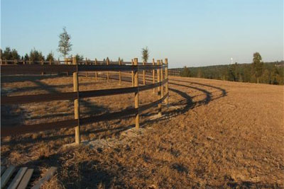 build round pen | Horse Fence Direct Blog